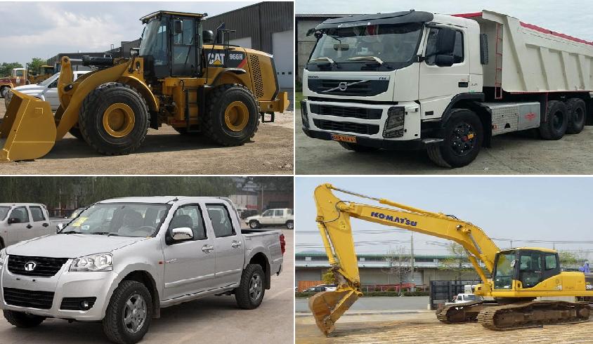 تأمین لودر چرخ پلاستیکی، کامیون کمپرسی، وانت دو کابین و بیل مکانیکی قرارداد ۹۳۱۲۸۶