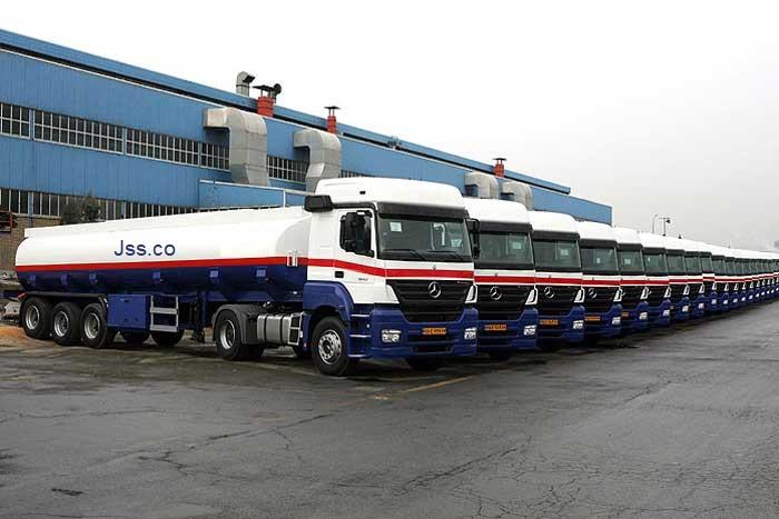 تأمین تانکر حمل سوخت مورد نیاز دستگاه حفاری قرارداد ۵۰۹۹