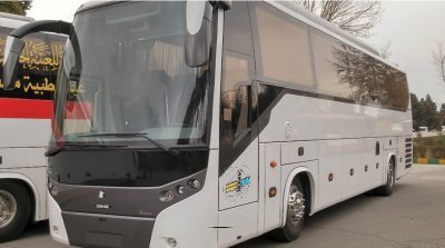 تأمین اتوبوس کولر دار جهت پروژه سبلان به شماره قرارداد ۸۹۰۱۱۵