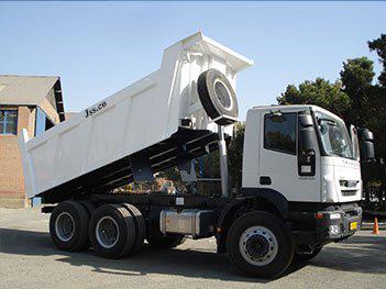 تأمین کامیون ۱۰ تنی ویژه پسماندهای حفاری قرارداد ۵۱۲۳