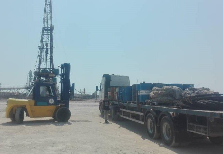 تأمین خدمات بندری و امور پشتیبانی و تدارکات دریایی و خشکی مورد نیاز پروژههای حفاری قرارداد ۹۸۰۳۵۰